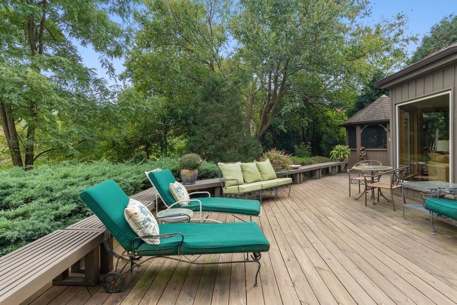 Real Estate Photography - 800 Lund Ln, Batavia, IL, 60510 - Deck