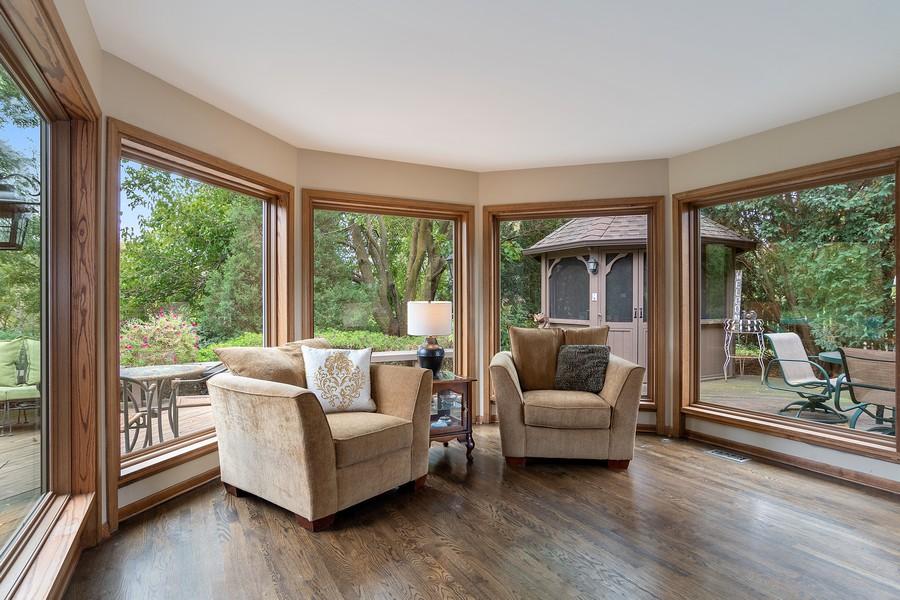 Real Estate Photography - 800 Lund Ln, Batavia, IL, 60510 - Sun Room