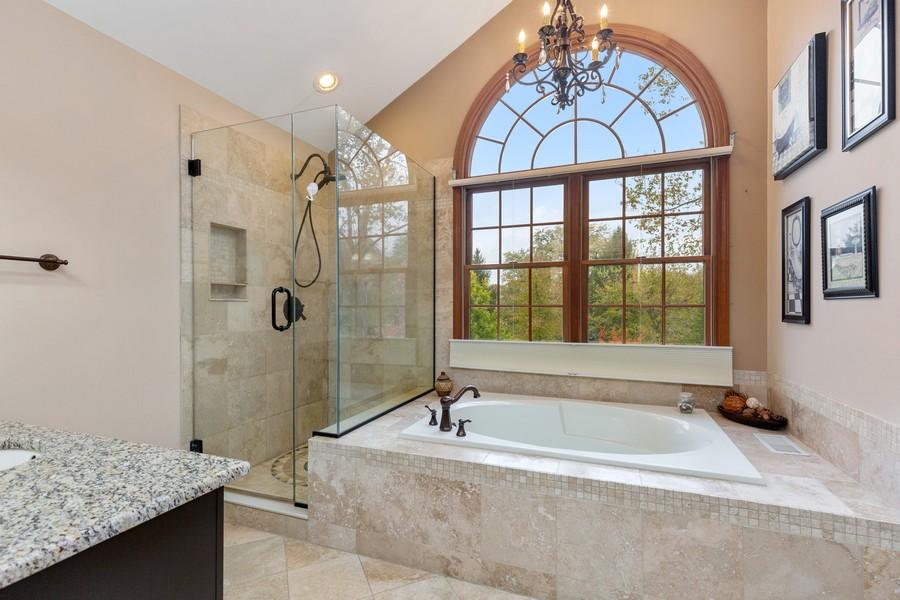 Real Estate Photography - 8N431 Sunny Hill Cir, Campton Hills, IL, 60124 - Master Bathroom