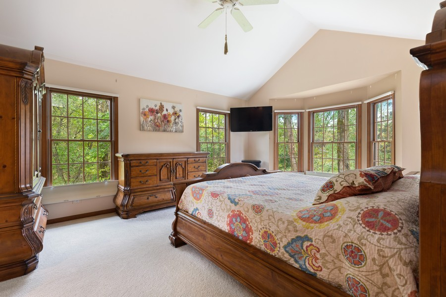 Real Estate Photography - 8N431 Sunny Hill Cir, Campton Hills, IL, 60124 - Master Bedroom