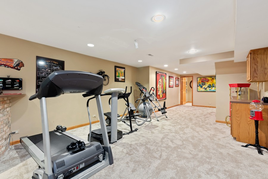 Real Estate Photography - 8N431 Sunny Hill Cir, Campton Hills, IL, 60124 - Lower Level