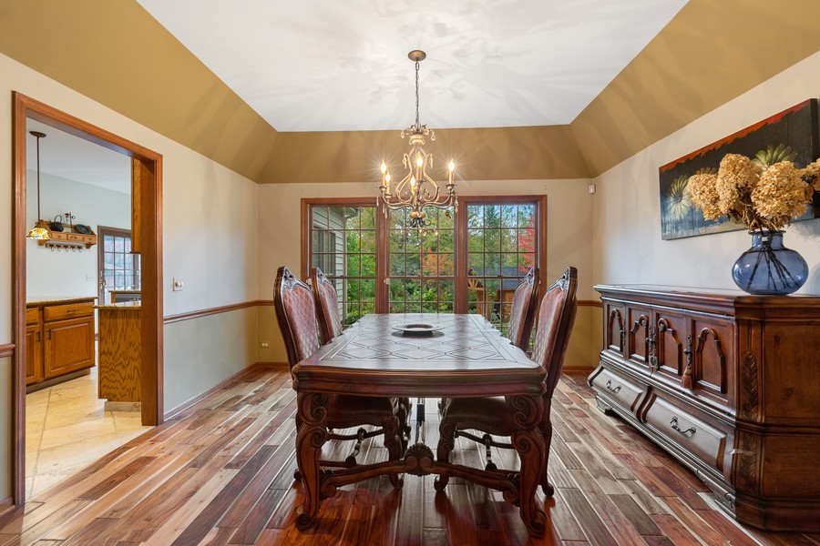 Real Estate Photography - 8N431 Sunny Hill Cir, Campton Hills, IL, 60124 - Dining Room