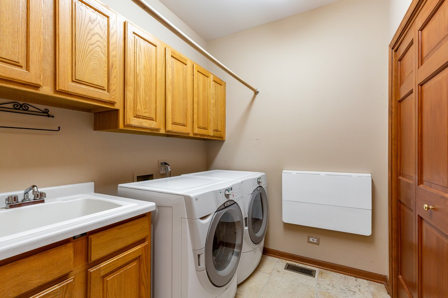 Real Estate Photography - 8N431 Sunny Hill Cir, Campton Hills, IL, 60124 - Laundry Room