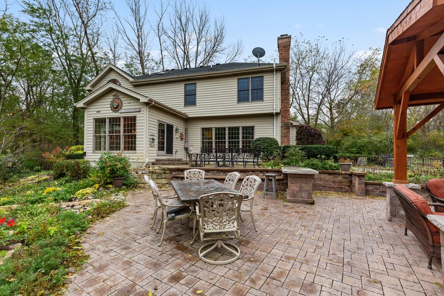 Real Estate Photography - 8N431 Sunny Hill Cir, Campton Hills, IL, 60124 - Rear View