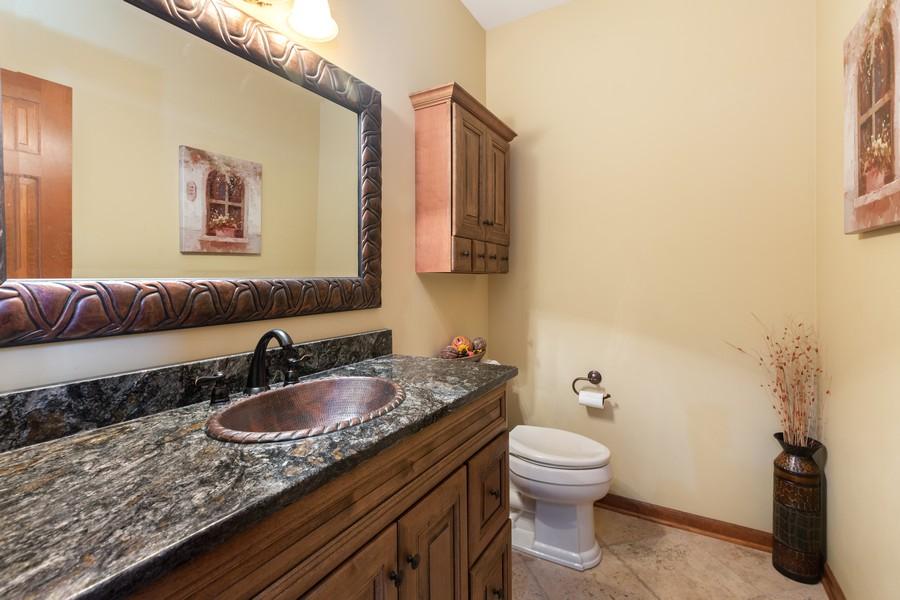 Real Estate Photography - 8N431 Sunny Hill Cir, Campton Hills, IL, 60124 - Half Bath
