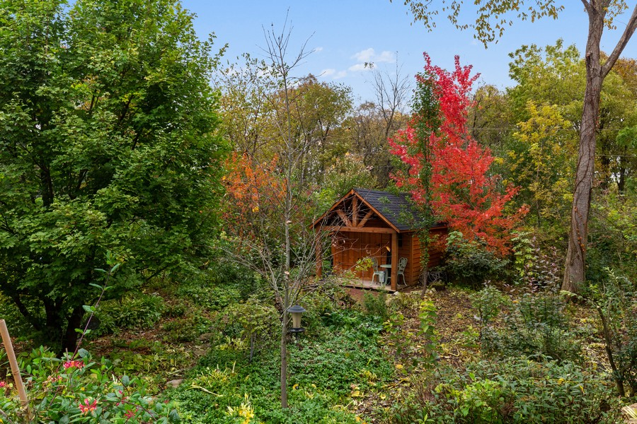 Real Estate Photography - 8N431 Sunny Hill Cir, Campton Hills, IL, 60124 - Garden Shed
