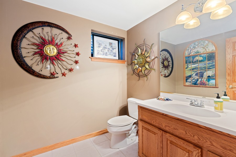 Real Estate Photography - 8N431 Sunny Hill Cir, Campton Hills, IL, 60124 - Lower Level Bathroom
