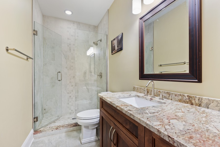 Real Estate Photography - 1668 West Olive Ave, Chicago, IL, 60660 - 4th Bathroom