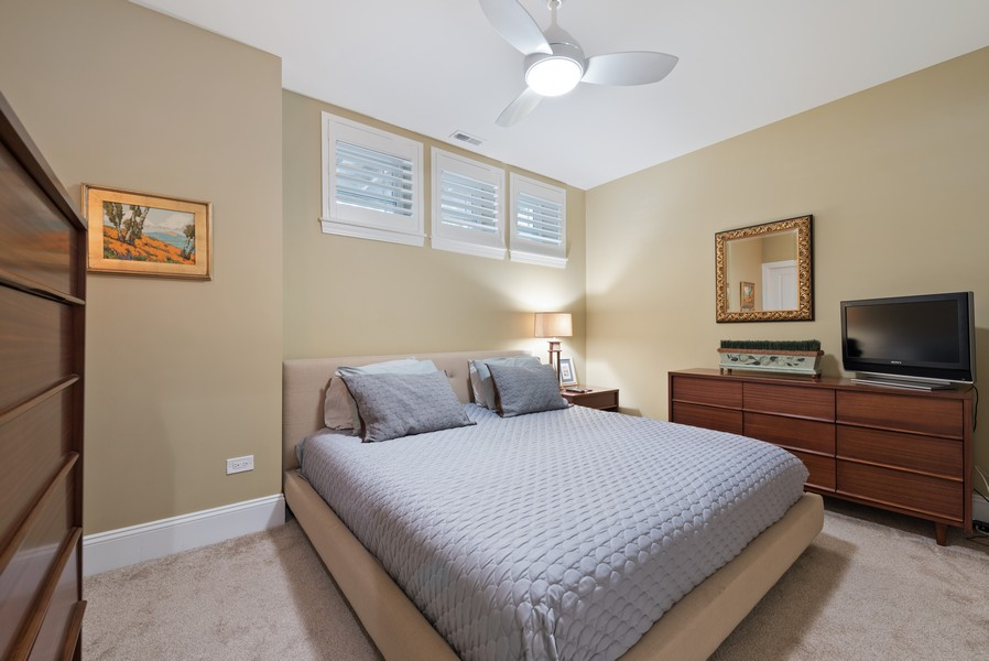 Real Estate Photography - 1668 West Olive Ave, Chicago, IL, 60660 - Guest Bedroom