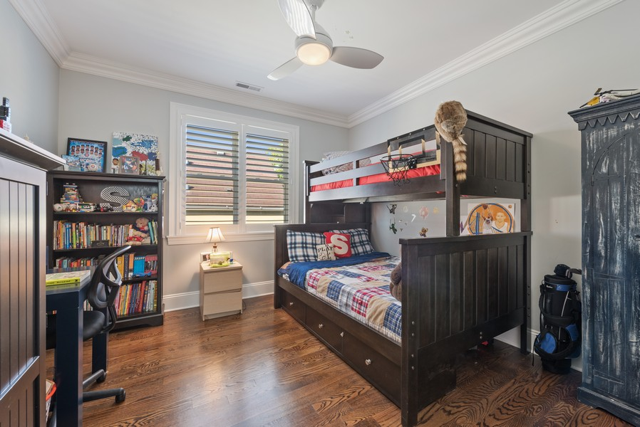 Real Estate Photography - 1668 West Olive Ave, Chicago, IL, 60660 - 2nd Bedroom