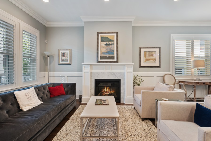 Real Estate Photography - 1668 West Olive Ave, Chicago, IL, 60660 - Living Room