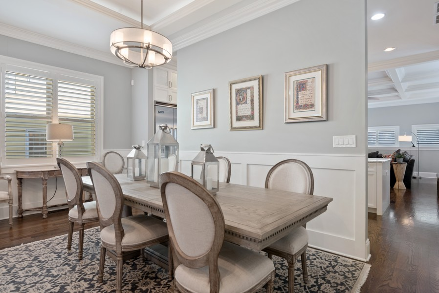Real Estate Photography - 1668 West Olive Ave, Chicago, IL, 60660 - Dining Room