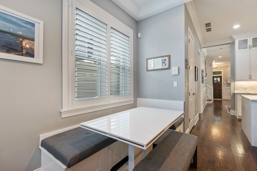 Real Estate Photography - 1668 West Olive Ave, Chicago, IL, 60660 - Breakfast Area
