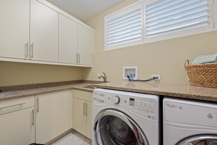 Real Estate Photography - 1668 West Olive Ave, Chicago, IL, 60660 - Laundry Room