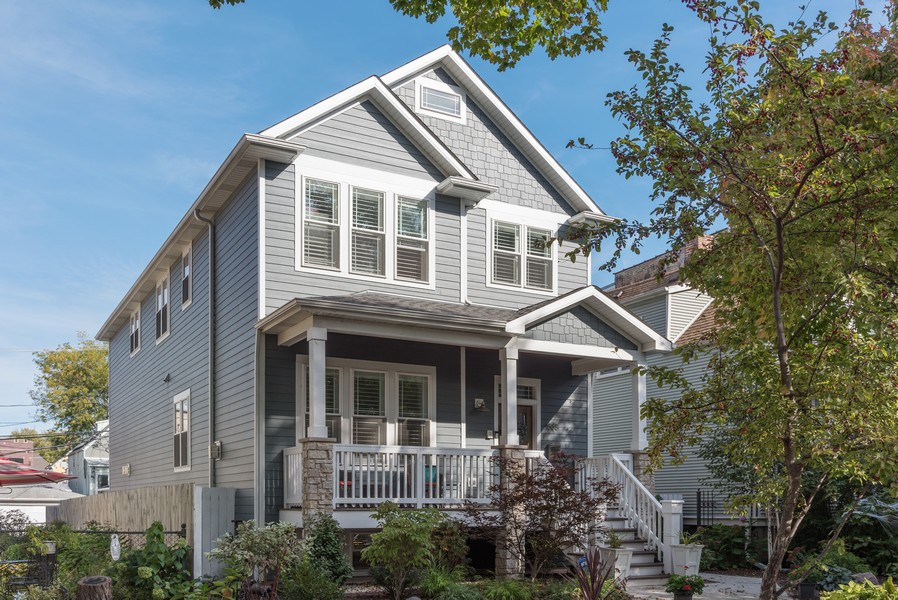 Real Estate Photography - 1668 West Olive Ave, Chicago, IL, 60660 - Front View