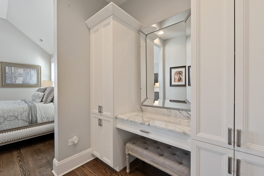 Real Estate Photography - 1668 West Olive Ave, Chicago, IL, 60660 - Dressing Area