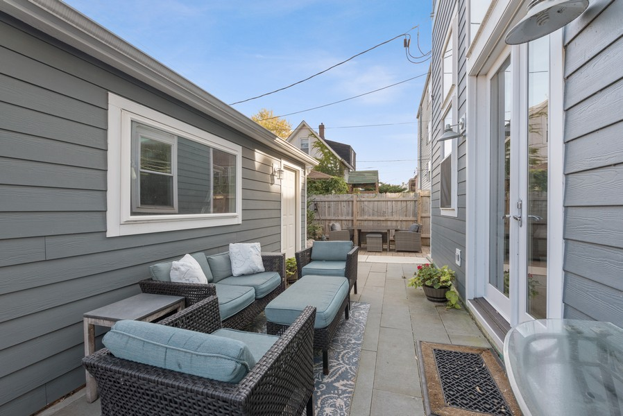 Real Estate Photography - 1668 West Olive Ave, Chicago, IL, 60660 - Patio