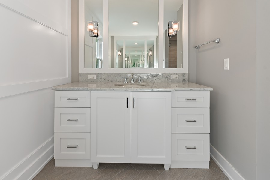 Real Estate Photography - 1470 Farington Ct, Naperville, IL, 60563 - Master Bathroom