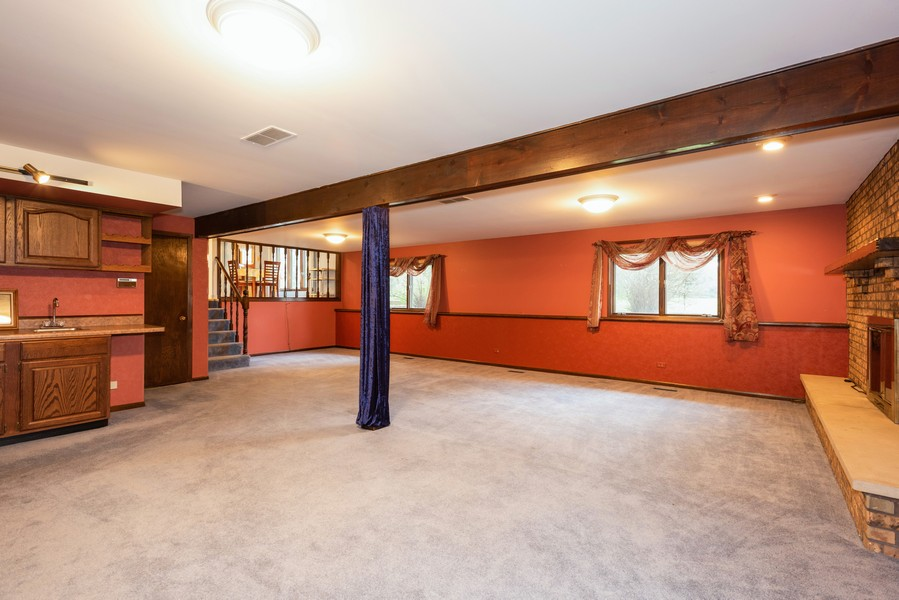 Real Estate Photography - 108 Jodi Ln, Bartlett, IL, 60103 - Recreational Room
