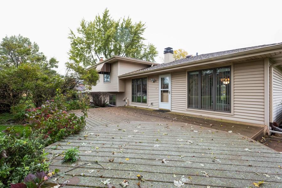 Real Estate Photography - 108 Jodi Ln, Bartlett, IL, 60103 - Deck