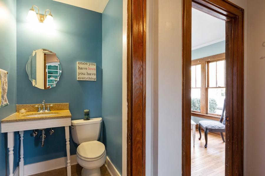 Real Estate Photography - 381 Douglas Ave, Crystal Lake, IL, 60014 - Powder Room