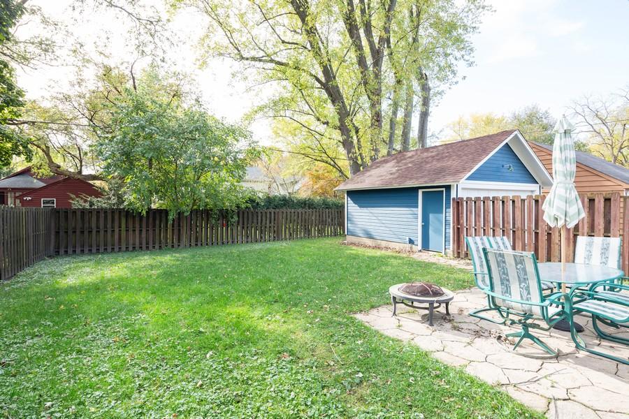 Real Estate Photography - 381 Douglas Ave, Crystal Lake, IL, 60014 - Back Yard