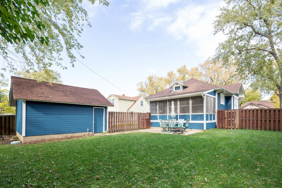 Real Estate Photography - 381 Douglas Ave, Crystal Lake, IL, 60014 - Rear View