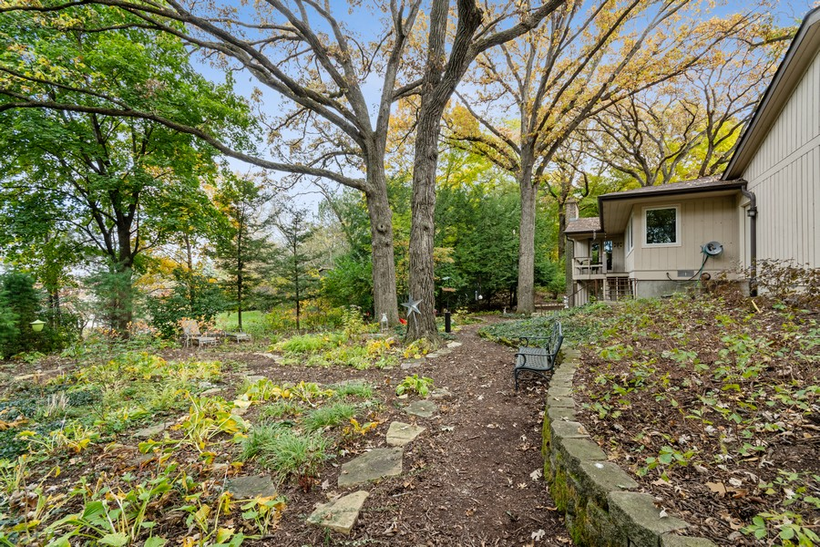 Real Estate Photography - 941 Anne Rd, Naperville, IL, 60540 - Back Yard