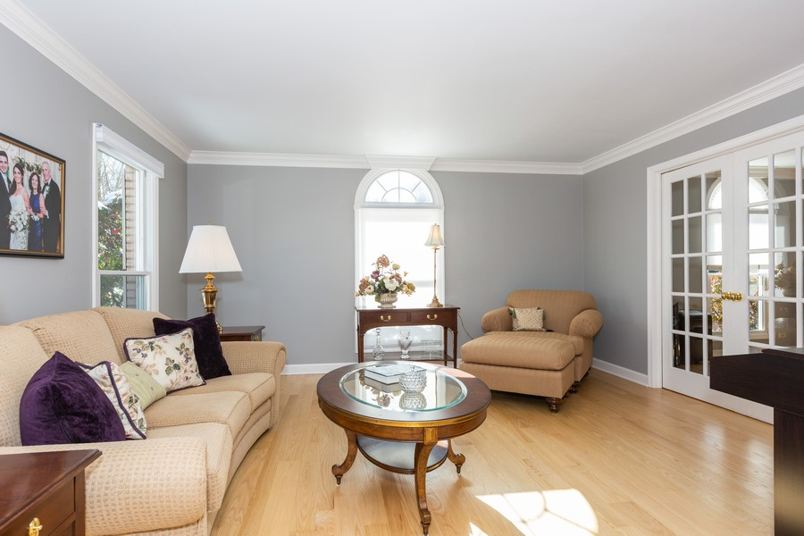 Real Estate Photography - 1015 Revere Ct, Naperville, IL, 60540 - Living Room