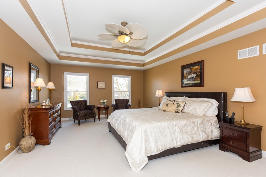 Real Estate Photography - 1015 Revere Ct, Naperville, IL, 60540 - Master Bedroom