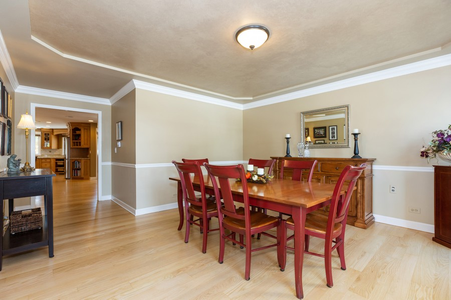 Real Estate Photography - 1015 Revere Ct, Naperville, IL, 60540 - Dining Room