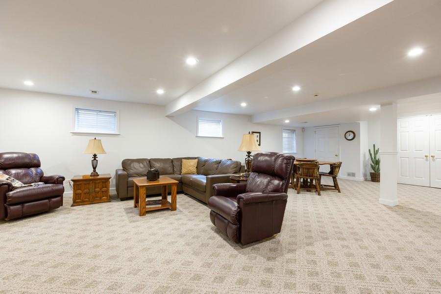 Real Estate Photography - 1015 Revere Ct, Naperville, IL, 60540 - Basement Rec Area