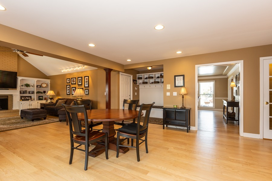 Real Estate Photography - 1015 Revere Ct, Naperville, IL, 60540 - Kitchen Eating Area
