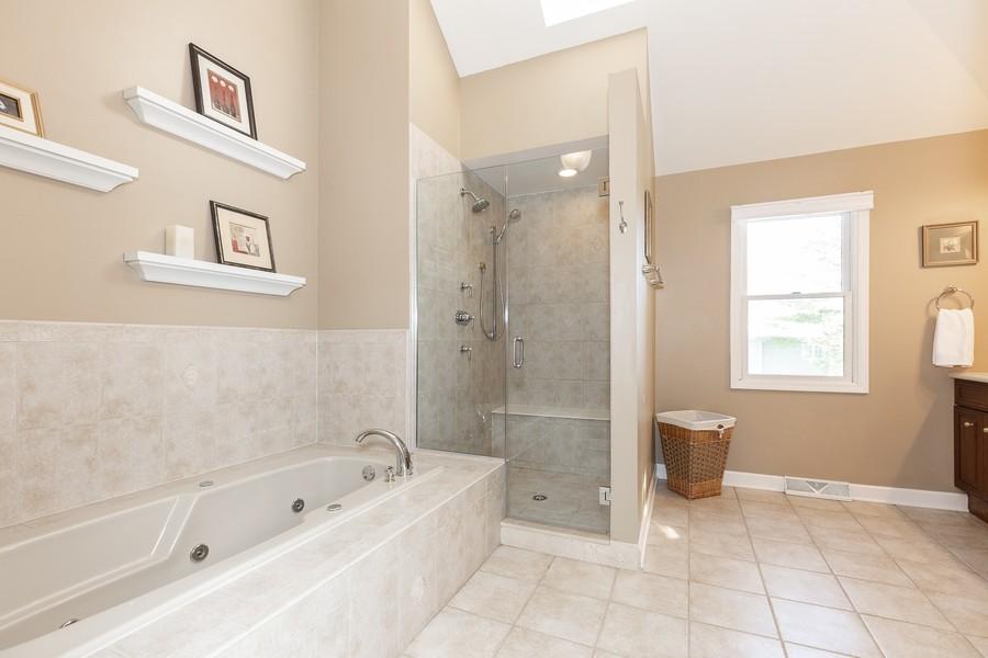 Real Estate Photography - 1015 Revere Ct, Naperville, IL, 60540 - Master Bathroom