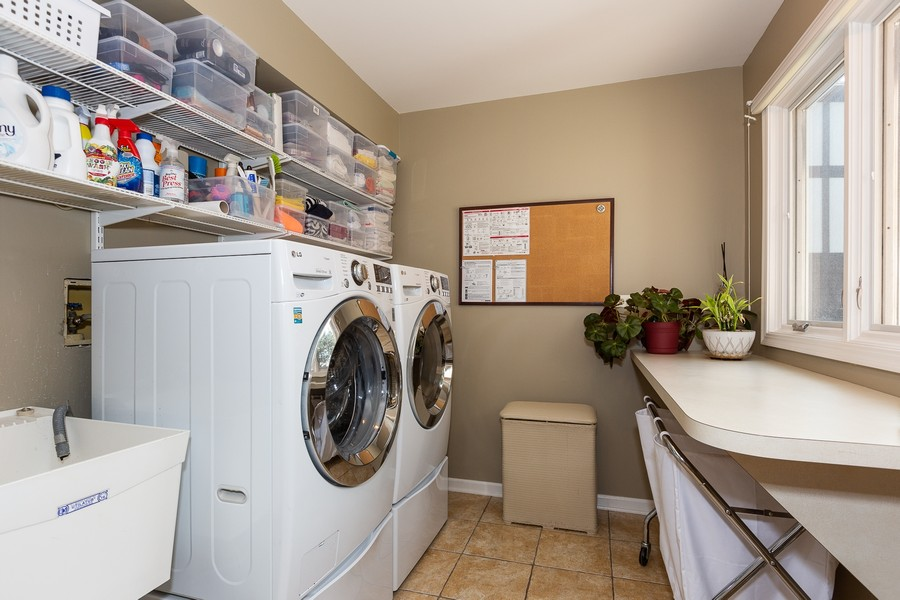 Real Estate Photography - 1015 Revere Ct, Naperville, IL, 60540 - Laundry Room