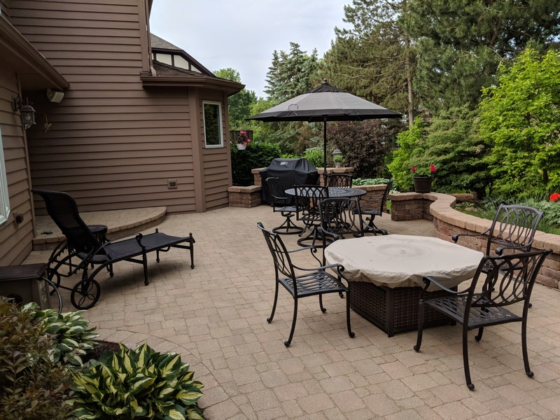 Real Estate Photography - 1015 Revere Ct, Naperville, IL, 60540 - Exterior Rear Patio View