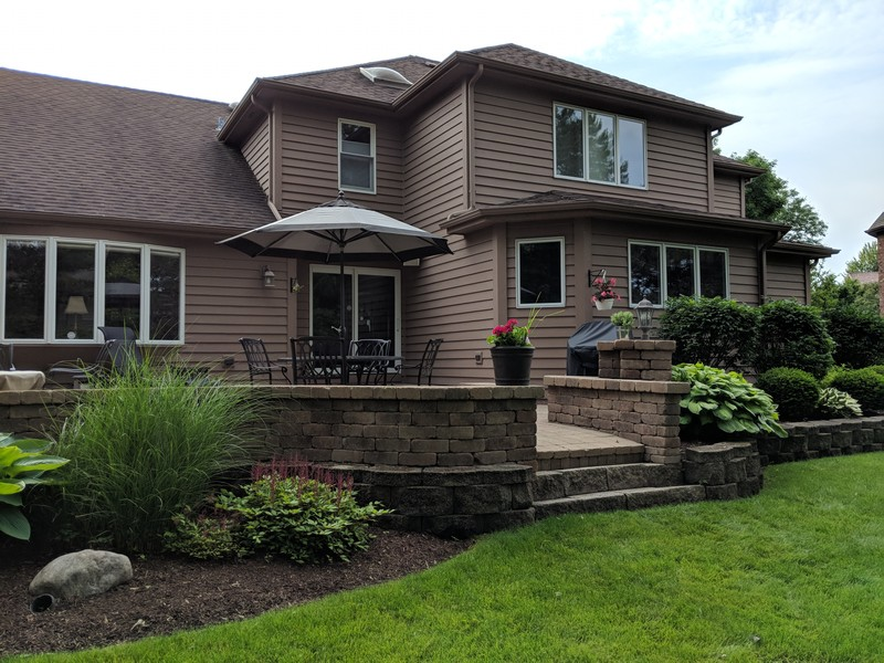 Real Estate Photography - 1015 Revere Ct, Naperville, IL, 60540 - Exterior Rear View