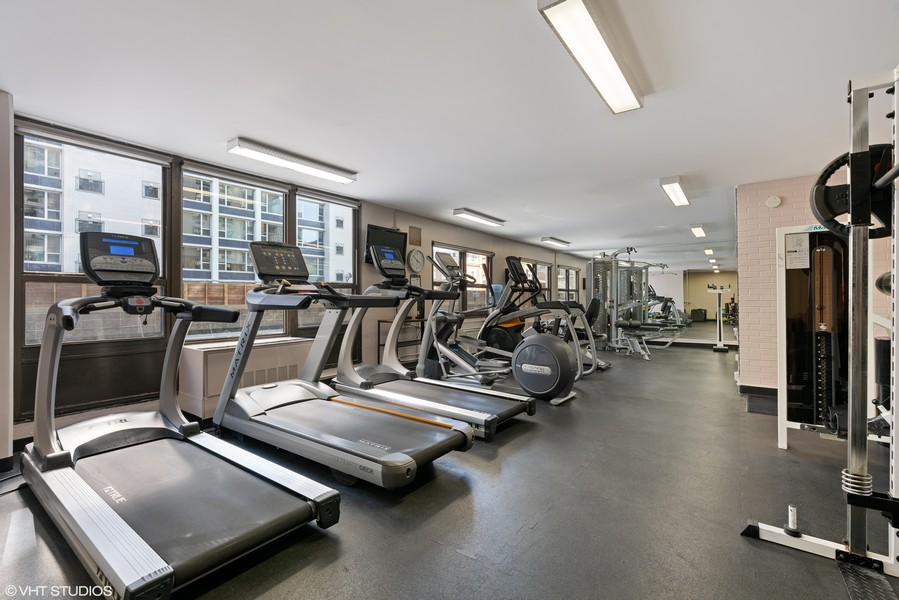 Real Estate Photography - 1313 North Ritchie Ct, 606, Chicago, IL, 60610 - Exercise Room