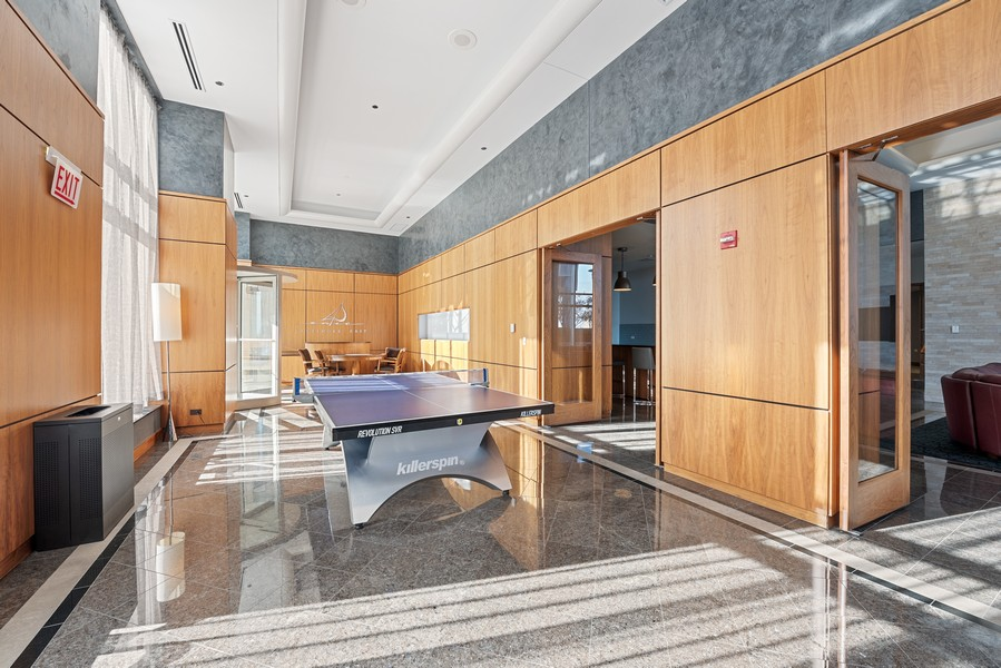 Real Estate Photography - 420 East Waterside Dr, 1403, Chicago, IL, 60601 - Recreational Room