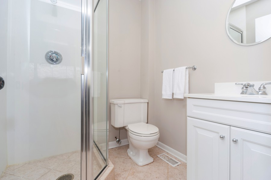 Real Estate Photography - 1555 Tower Rd, Winnetka, IL, 60093 - 3rd Bathroom