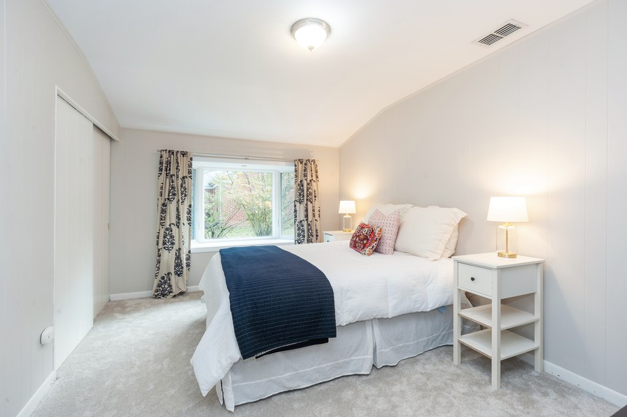 Real Estate Photography - 1555 Tower Rd, Winnetka, IL, 60093 - 4th Bedroom