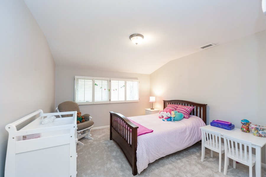 Real Estate Photography - 1555 Tower Rd, Winnetka, IL, 60093 - 3rd Bedroom
