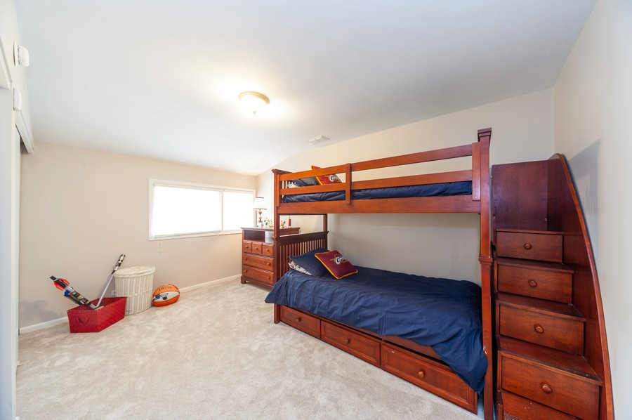 Real Estate Photography - 1555 Tower Rd, Winnetka, IL, 60093 - 2nd Bedroom