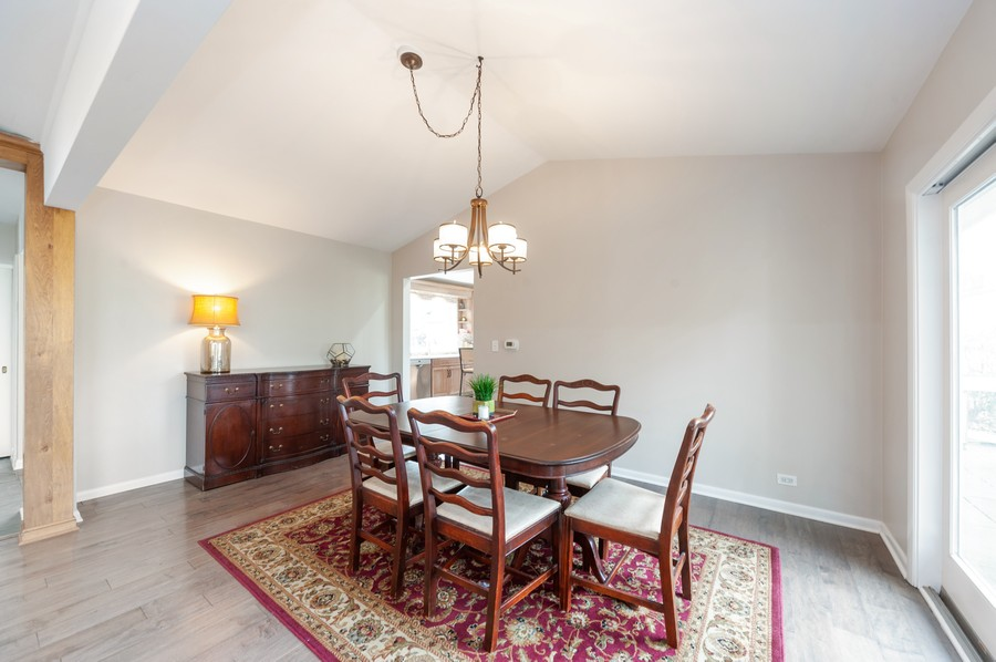 Real Estate Photography - 1555 Tower Rd, Winnetka, IL, 60093 - Dining Room