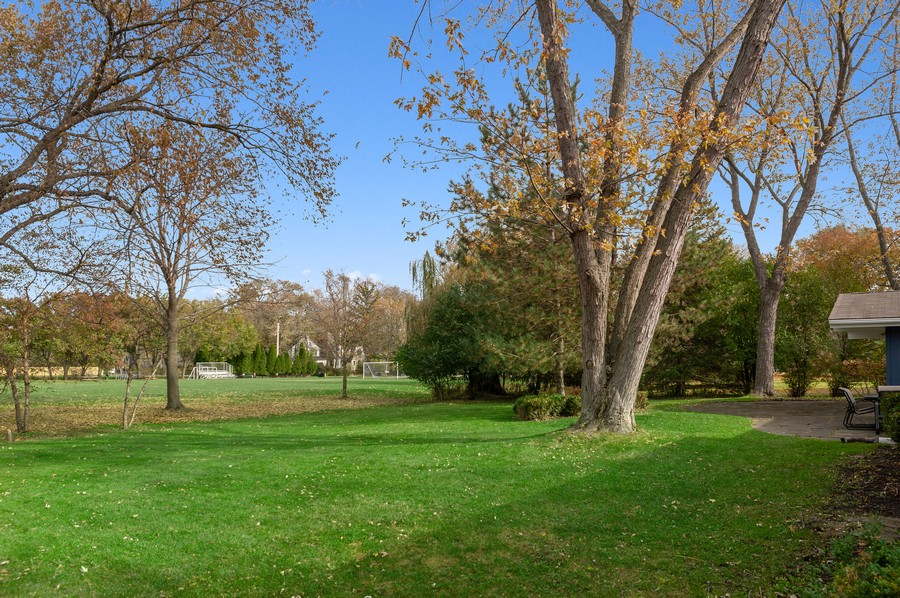 Real Estate Photography - 1555 Tower Rd, Winnetka, IL, 60093 - Back Yard