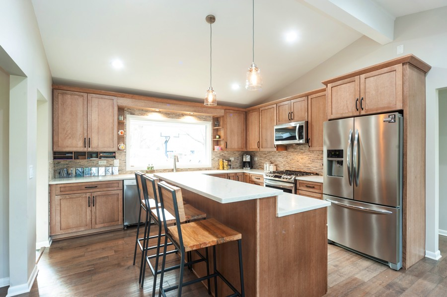 Real Estate Photography - 1555 Tower Rd, Winnetka, IL, 60093 - Kitchen