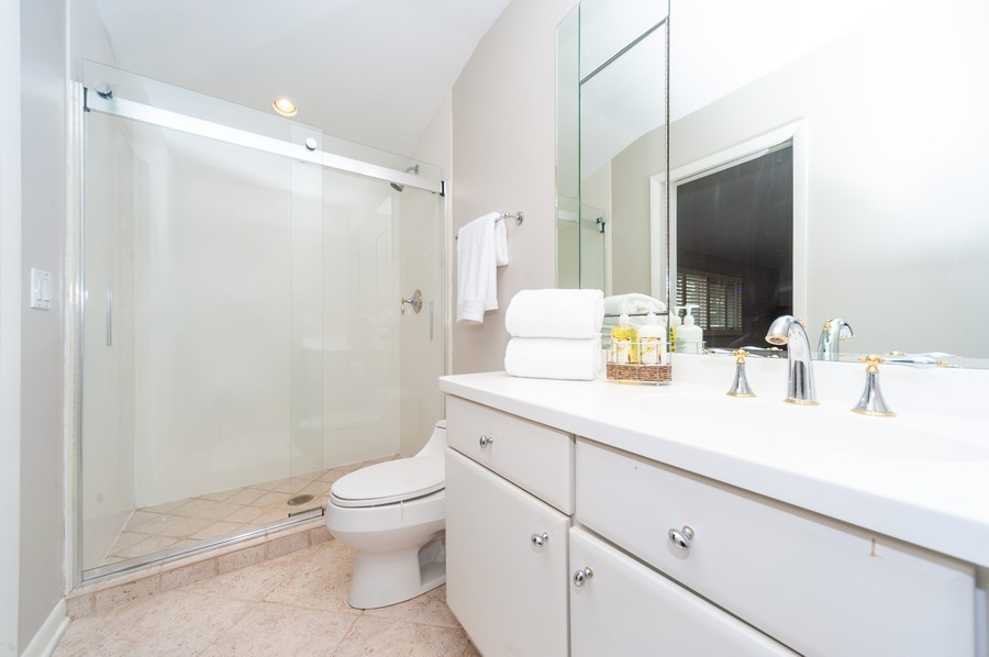 Real Estate Photography - 1555 Tower Rd, Winnetka, IL, 60093 - Master Bathroom