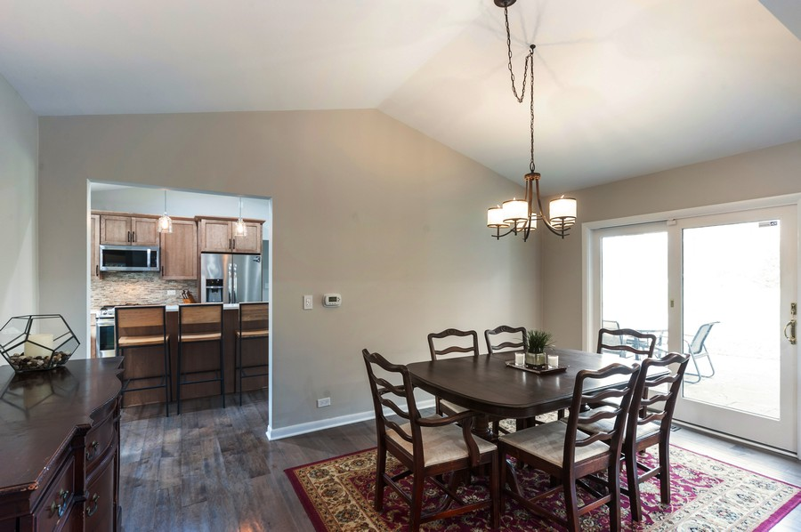 Real Estate Photography - 1555 Tower Rd, Winnetka, IL, 60093 - Dining Room / Kitchen View