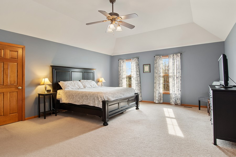 Real Estate Photography - 2611 Partlow Dr, Naperville, IL, 60564 - Master Bedroom