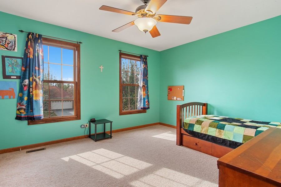 Real Estate Photography - 2611 Partlow Dr, Naperville, IL, 60564 - 4th Bedroom